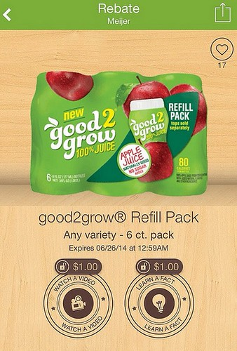 a new good2grow juice deal at meijer for a single and 6pk of juice the shopper 39 s apprentice. Black Bedroom Furniture Sets. Home Design Ideas