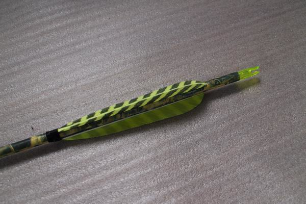 12pcs Camouflage Carbon hunting arrows - Arrows, Vanes, broadheads and arrow building components