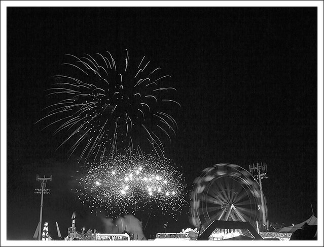 4th of July In Webster Groves 2014 24 BW