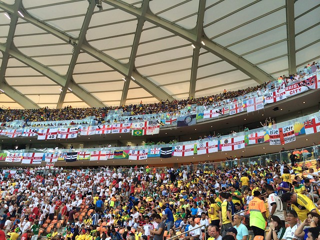 England fans in Brazil from Flickr via Wylio