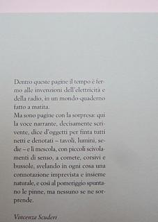 Ortografia della neve, di Francesco Balsamo. incertieditori 2010. Progetto grafico di officina delle immagini. Risvolto della quarta di copertina. (part.), 1