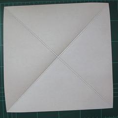 การพับกระดาษเป็นรูปสัตว์ประหลาดก็อตซิล่า (Origami Gozzila) 002