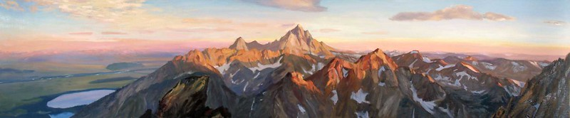 Oil on Linen | 24 x 96 inches | not available