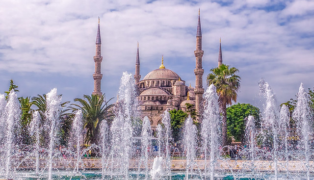 Blue Mosque Istanbul by CC user gags9999 on Flickr