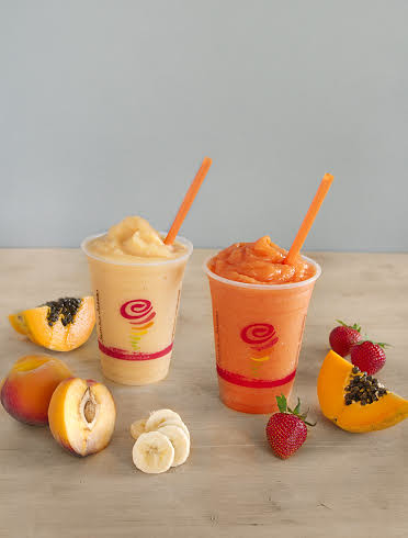 Papaya Smoothies courtesy Jamba Juice PR