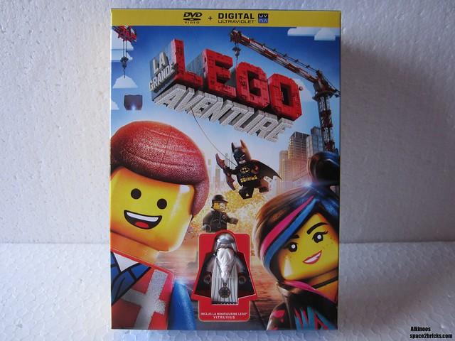The Lego Movie DVD p1