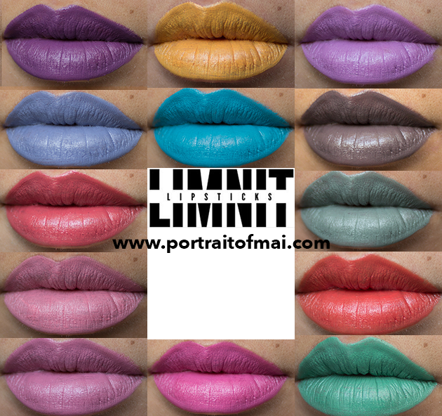 Limnit Lipsticks Collage finale