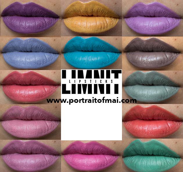 Limnit Lipsticks Collage finale