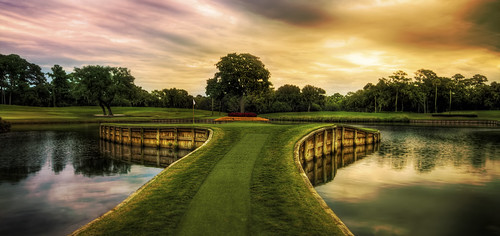 golf hole florida 17th tpc sawgrass theplayers