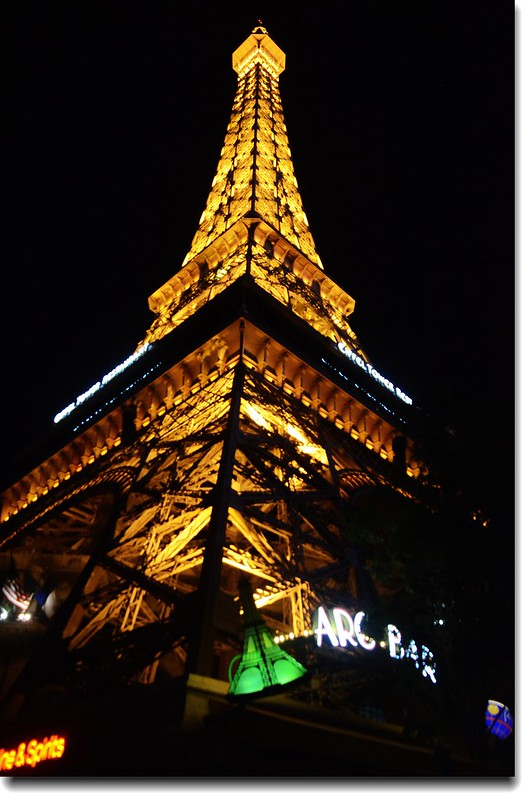 The Eiffel Tower at Paris Las Vegas 3