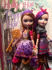 Holly and Poppy O'Hair Ever After High