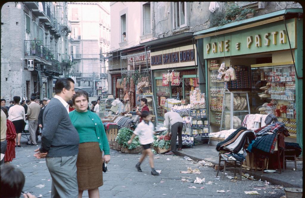 Naples perhaps? Italy I think?