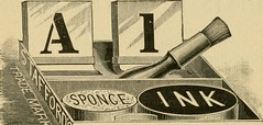 """Image from page 160 of """"Rubber hand stamps and the manipulation of rubber; a practical treatise on the manufacture of India rubber hand stamps, small articles of India rubber, the hektograph, special inks, cements, and allied subjects"""" (1891)"""