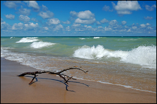 The Great Lakes, including Lake Michigan, are one of the Critical Conservation Areas designated for assistance through the Regional Conservation Partnership Program. Photo by Tom Gill.