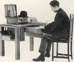"""Image from page 58 of """"Book of styles : issues expressly for modern people and illustrating the Cadillac """"desk table."""""""" (1910)"""