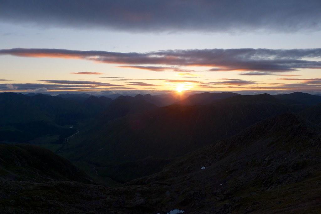 Sunrise from Ben Starav