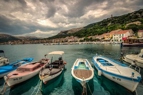 marina boat harbour croatia hdr krk kroatien baška 3px primorjegorski