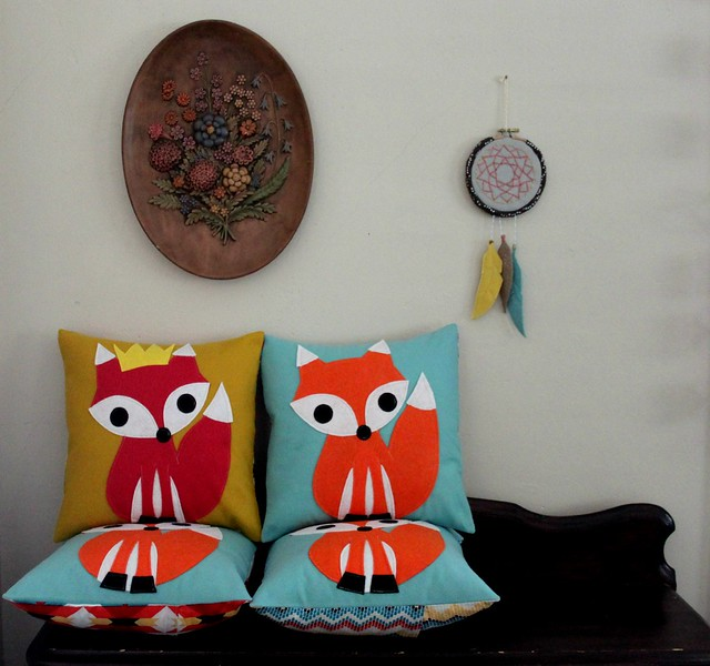 Fox Pillow Set