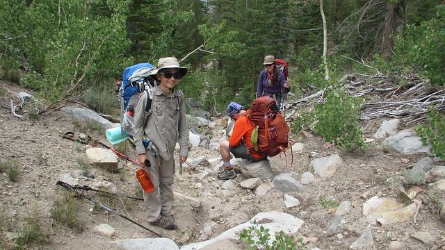 Backpacking to Gibbs Lake