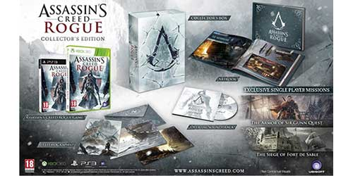 Assassin's Creed: Rogue Collector's Edition announced