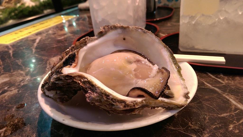 Japanese Iwagaki oysters
