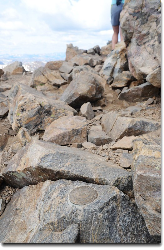 Mount Elbert Benchmark 3