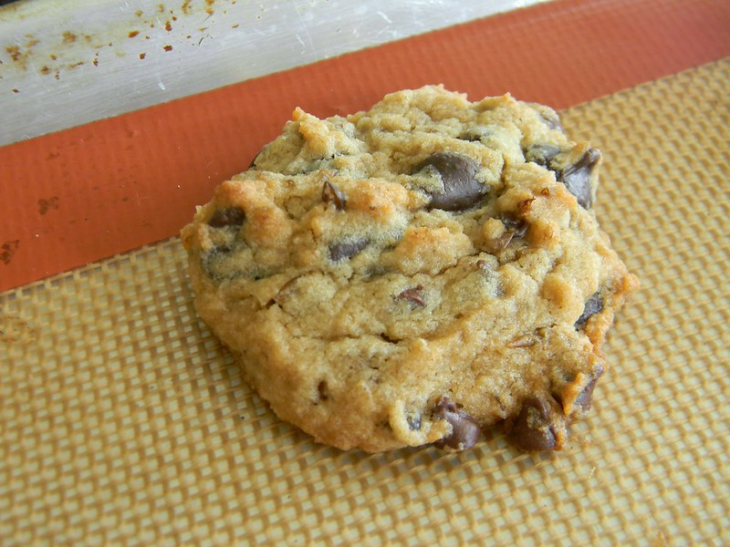 Chocolate Chip Lentil Cookies