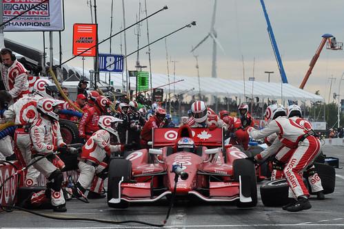 Pit lane - race #2, Honda Indy Toronto 2014