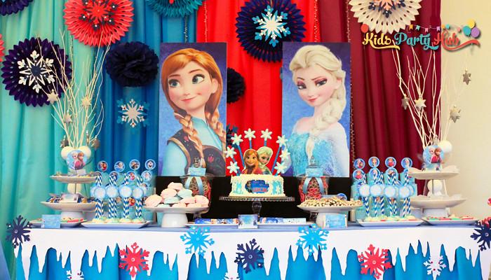 Frozen Dessert and Candy Buffet