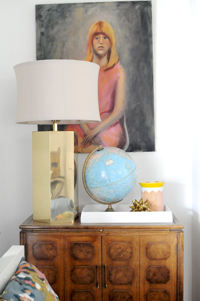 Giant Gold Lamp