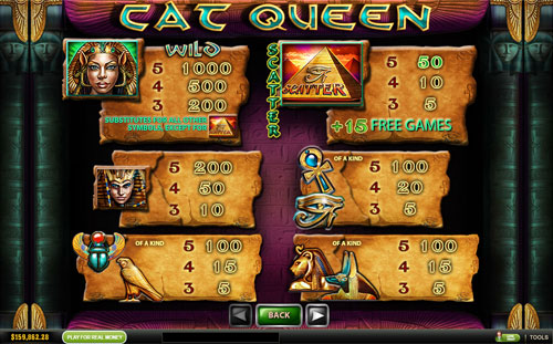 free Cat Queen slot mini symbol