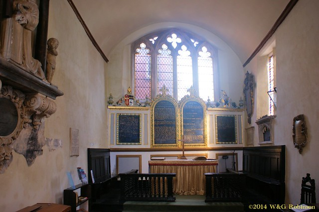 St Martin's, facing the altar