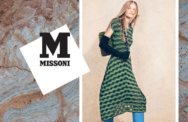 Рекламная кампания M Missoni, 'FW14-15