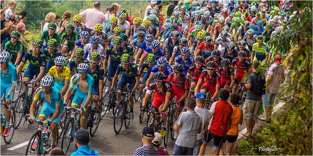 Tour de France 2014 - Loucrup (65) - Montée de catégorie 3