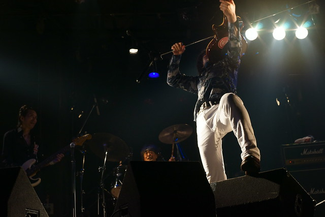 The Wells live at Rock Joint GB, Tokyo, 17 Aug 2014. 220