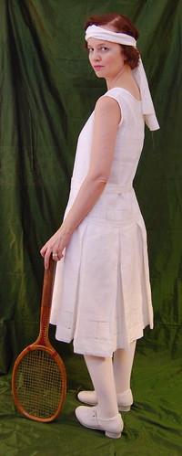 1920s Tennis Dress 6