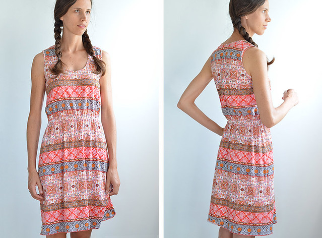 summer dress / McCalls M6744