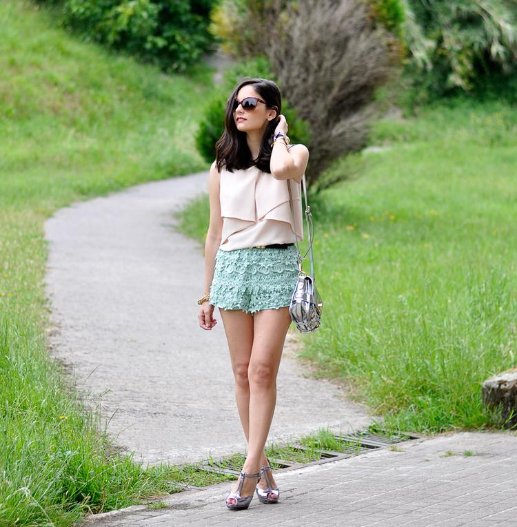 Lace Mint Short_05