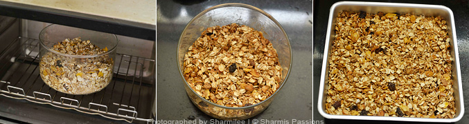 How to make granola recipe - Step2