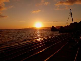 恵比須島からの夕景|Ebisu Island Sunset