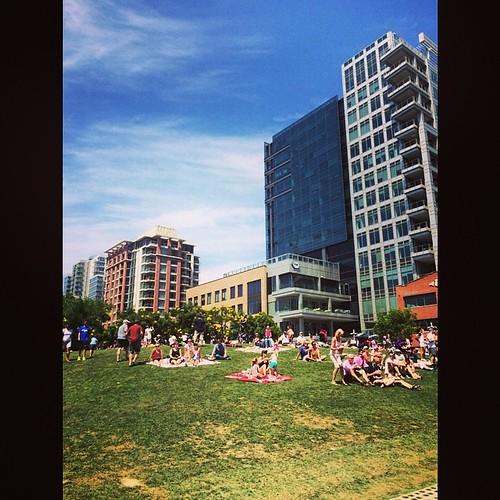 Loving this Park in the Park at #petcopark!! #parkinthepark #sdpadres #sandiego #MLB #baseball #kategoestocalifornia