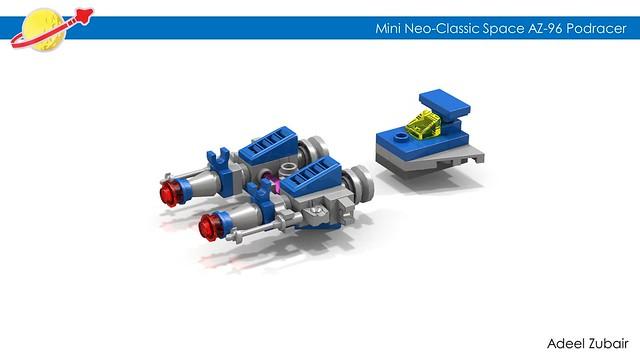 LEGO Neo-Classic Space - Mini AZ-96 Podracer