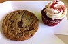 cookie and cupcake from The Pastry Cupboard in San Francisco