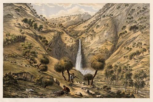 001-Australian landscapes -1860- Eugen von Guerard- Universität Tübingen
