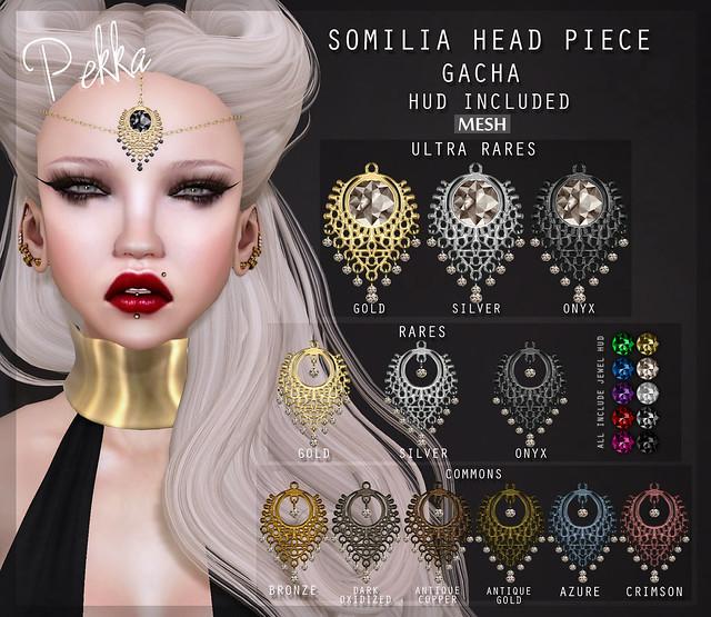 pekka somilia head piece