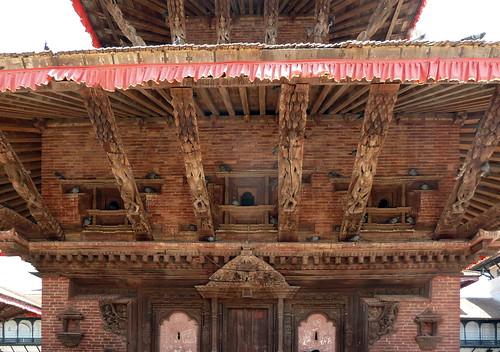 Nepal- Kathmandu - Jagannath Temple - Erotic Wood Carvings - 13