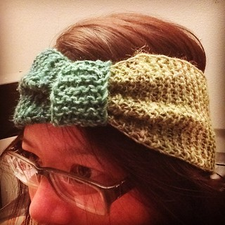 Another It's a Cinch. #headband #knit