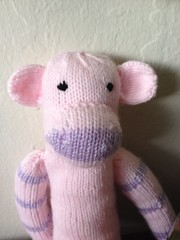 Pink monkey for Renee!