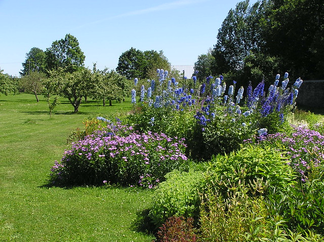 Flower garden of Sagadi manor
