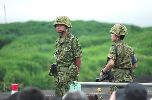 JGSDF Fuji Firepower (富士総合火力演習(総火演)2014)